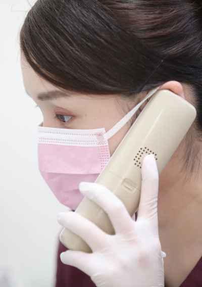 電話で歯科治療の予約・相談(岡山市北区)